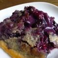 Scoop of Blueberry Cobbler