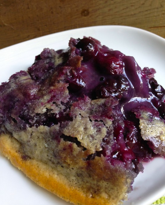 Brian's Blueberry Cobbler