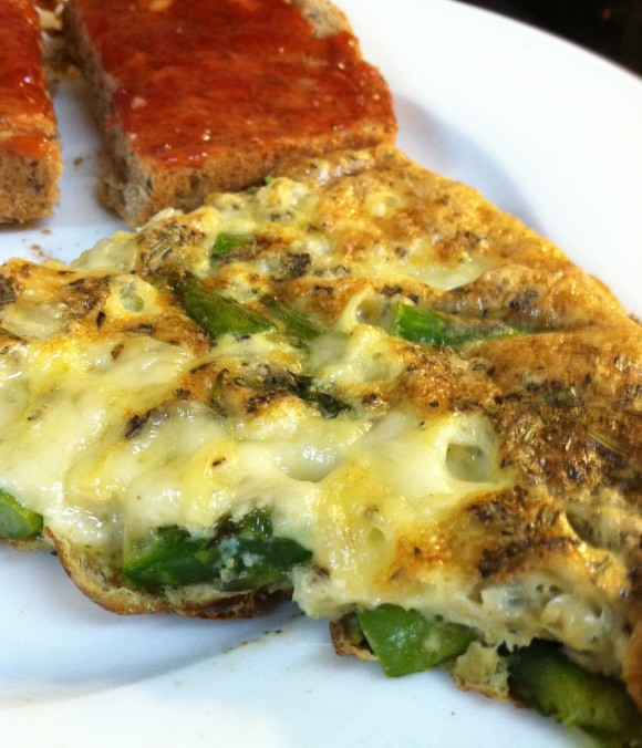Easy Asparagus Frittata Recipe