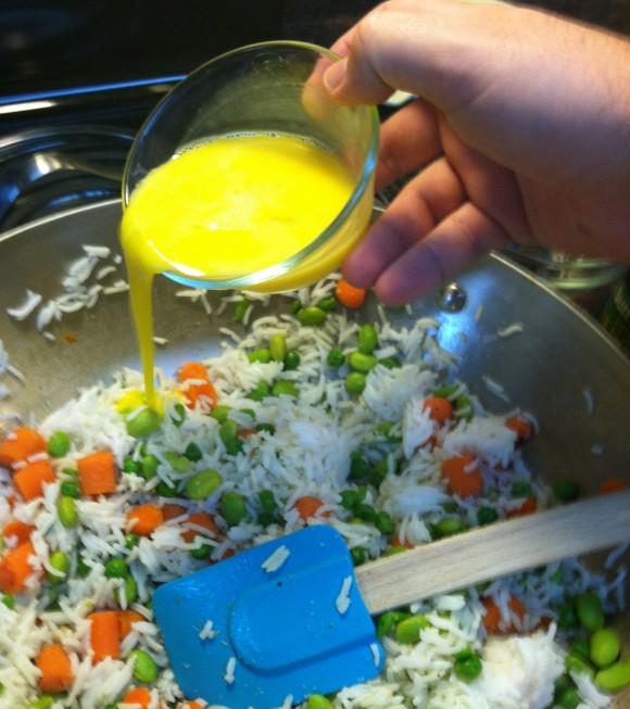 Adding Egg