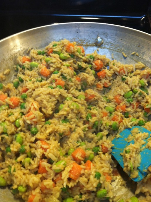 Fried Rice with Sauce