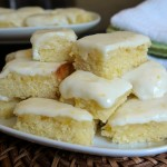 Delicious Frosted Lemon Bars!
