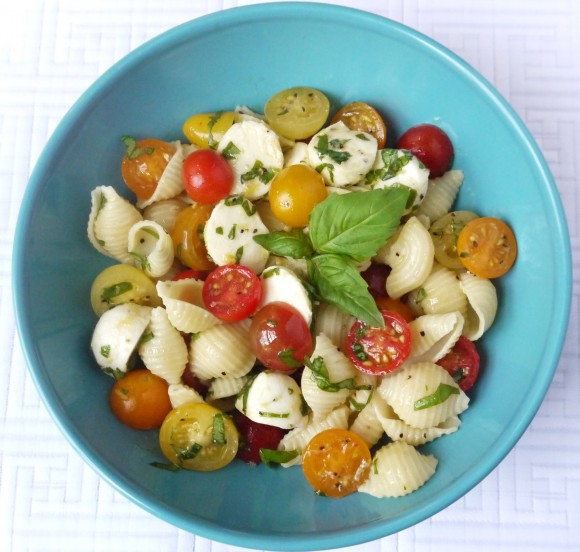 Fresh Tomato Pasta Salad Recipe