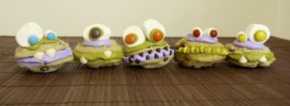 Monster Sandwich Cookies Recipe
