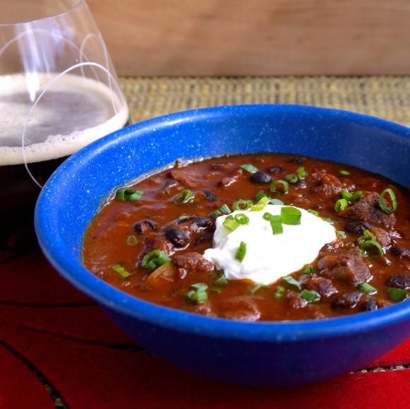 Beef and Black Bean Chili Recipe