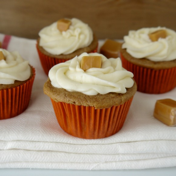Caramel Applesauce Cupcakes Recipe