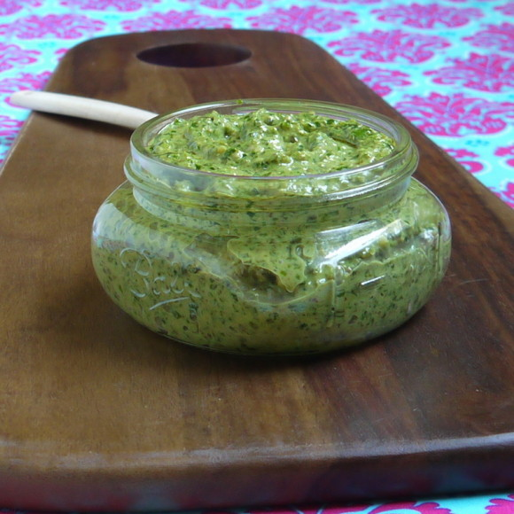 Homemade Kale Pesto