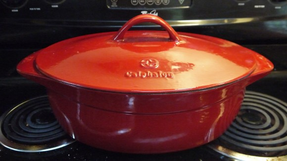 one large awesome dutch oven