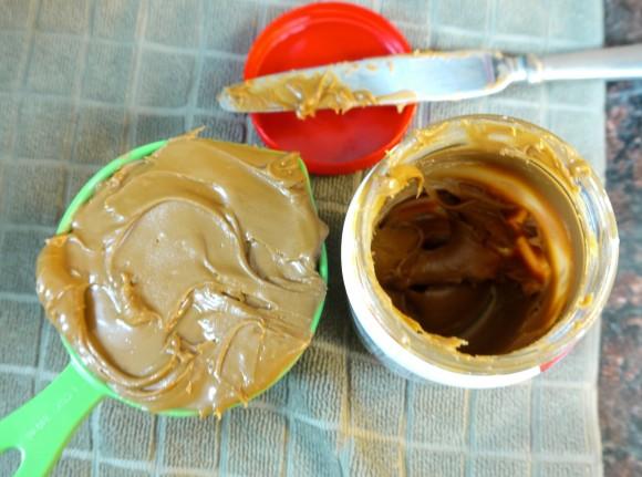 creamy Biscoff spread