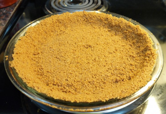 Biscoff pie crust