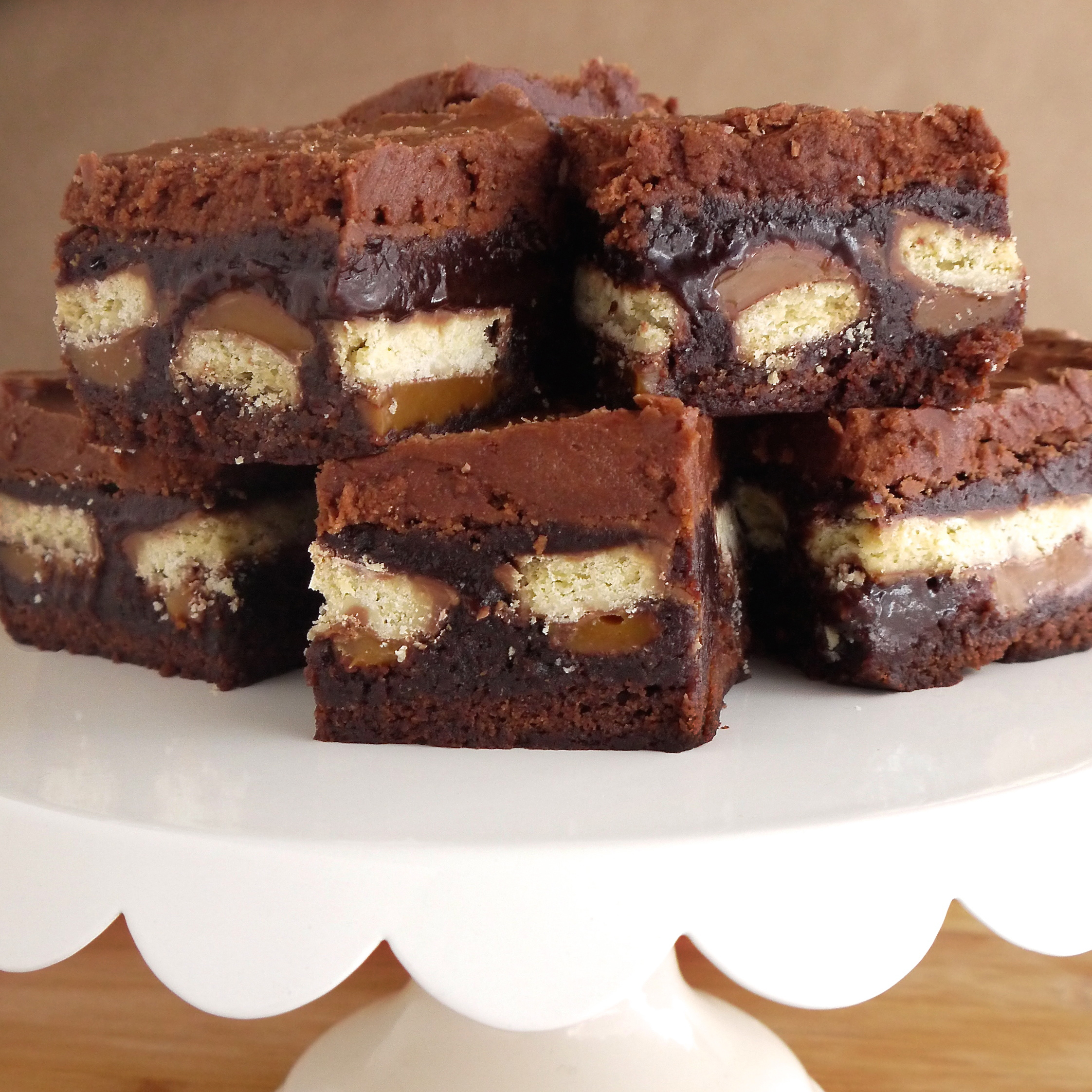 Mocha Twix Brownies