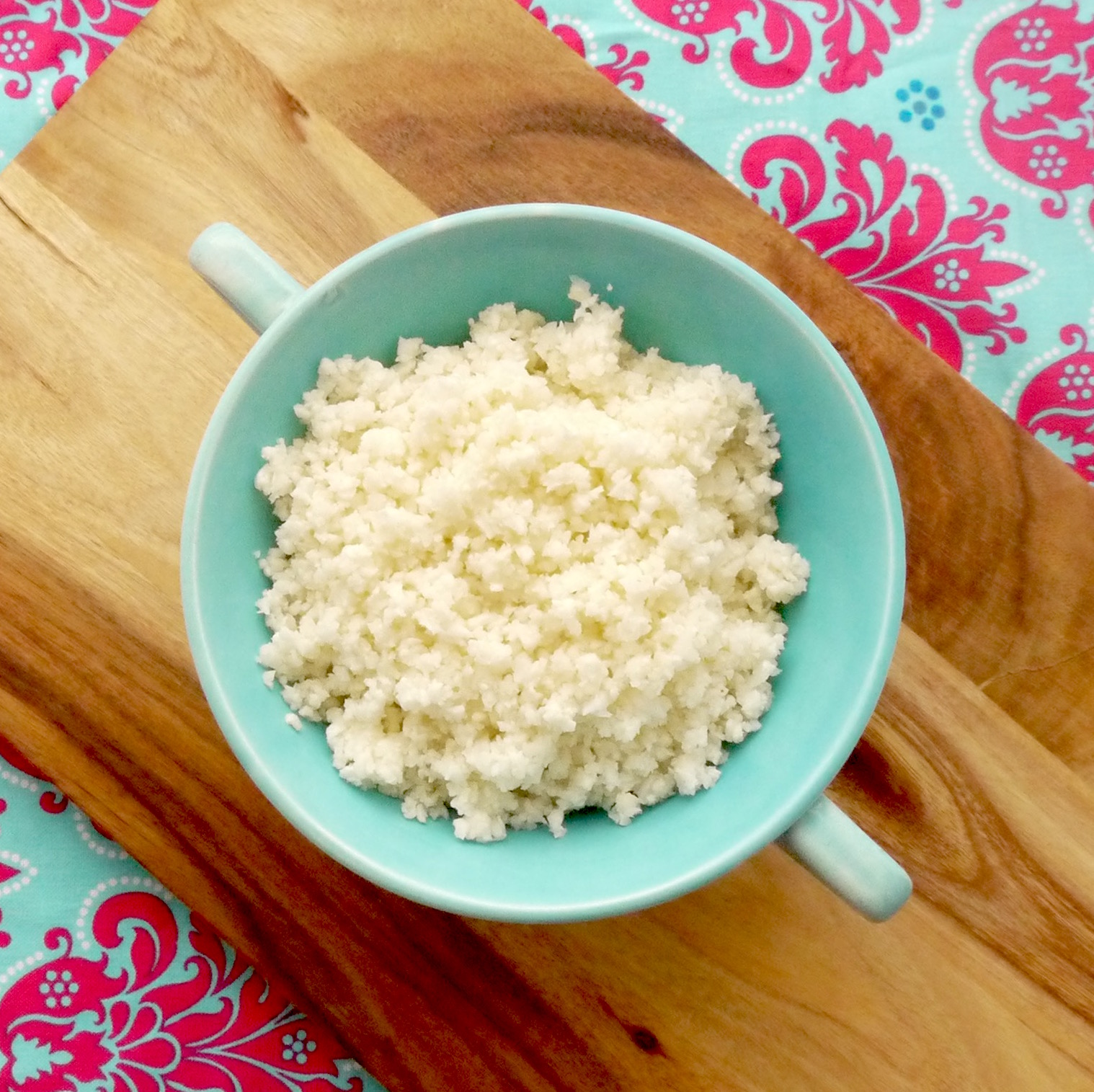 how to use frozen riced cauliflower
