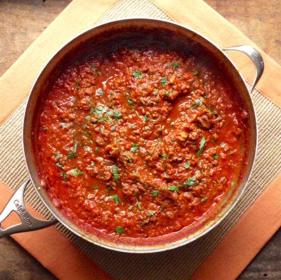Traditional Italian Meat Sauce
