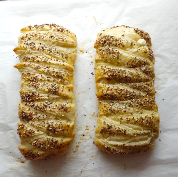 Everything Bagel Pastry Braid